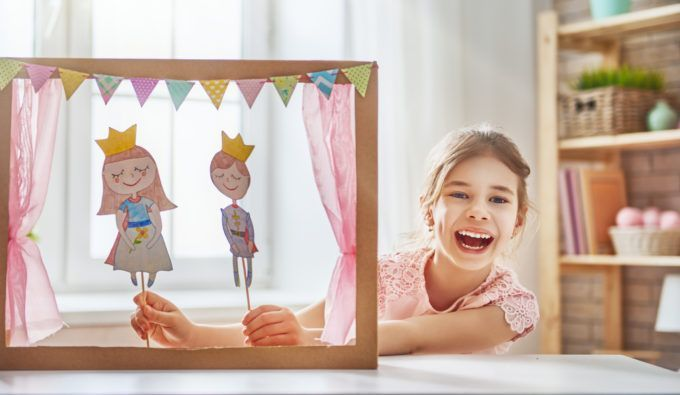curated care puppet show
