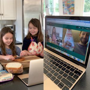 virtual cooking class for kids