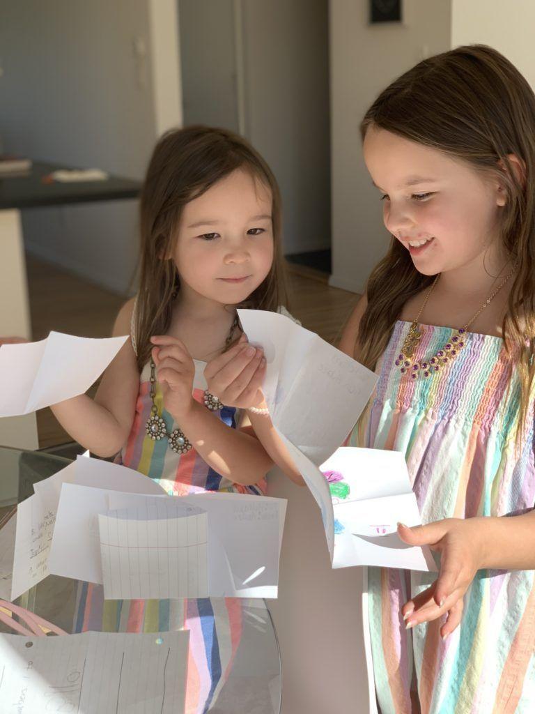 kids snail mail letters social distancing